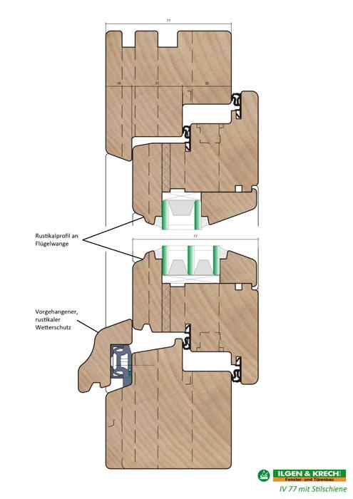 qualitative holzfenster der baureihe iv 77 vom fachmann f r fenster und t renbau ilgen krech. Black Bedroom Furniture Sets. Home Design Ideas